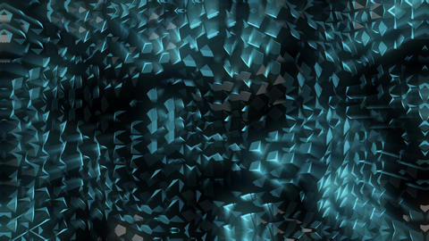 Snake Skin Dark Impulse Waves Full HD VJ Loop Animation