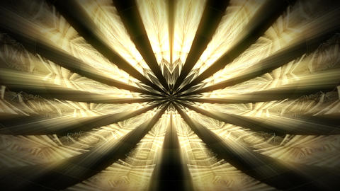 A Trip to the Golden Eye of Space Full HD VJ Loop Animation