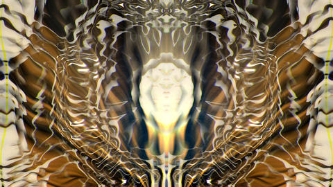 Dirty Golden Pulse Full HD VJ Loop Animation