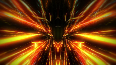 A trip through the Firework Tunnel Full HD VJ Loop Animation
