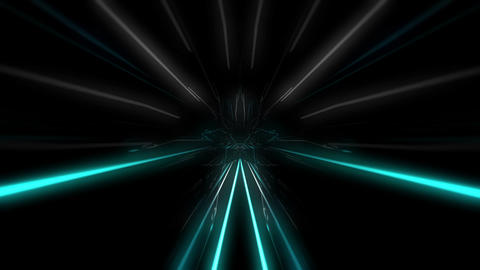 Power Trip through the Laser Tunnel Full HD VJ Loop Animation