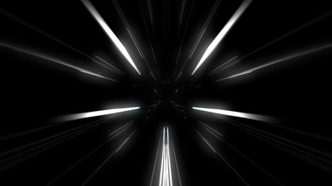 Power Trip through the Laser Tunnel Full HD VJ Loop Stock Video Footage