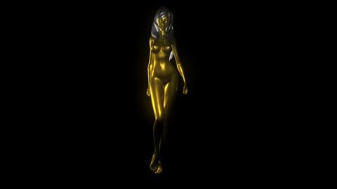 Meet The Goldfrau Full Hd VL Loop Animation
