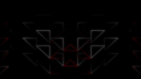 Mad Dancing Laser Triangle Full Hd Vj Loop Animation