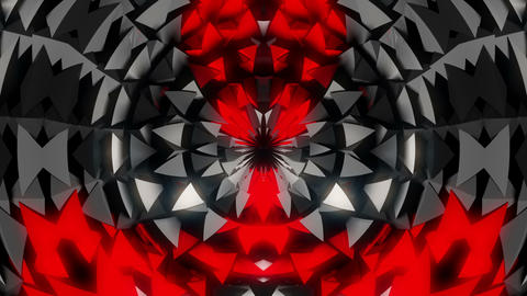 The Waves from Beyond of Kaleidoscopic Flower Full HD VJ Loop Animation