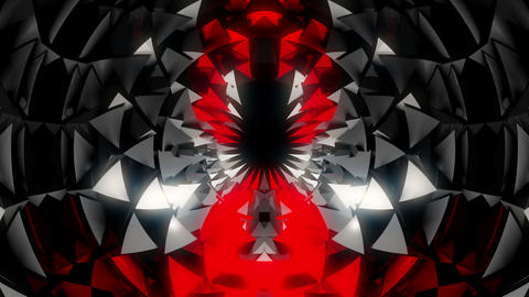 The Waves from Beyond of Kaleidoscopic Flower Full HD VJ... Stock Video Footage