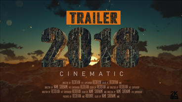 Movie Trailer Titles Cinematic v2 After Effects Template