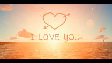 Photo Video Gallery Romantic Love story Plantilla de After Effects