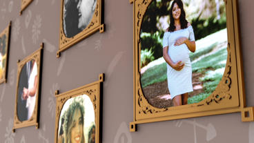 Wall of Memories Plantilla de After Effects