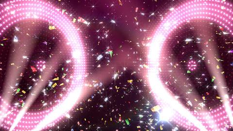 LED Wall 18 5 Circle Fb2 4k CG動画