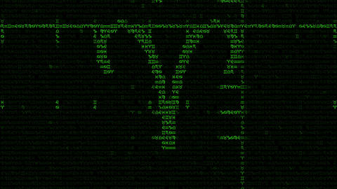Zodiac Signs Background In A Matrix Style Image