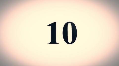 Top 10 Countdown Animation Animation