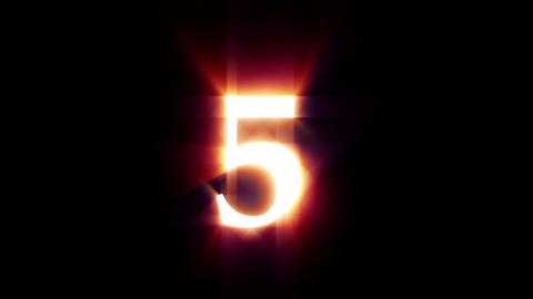Countdown Digits Animation Animation