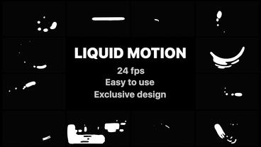 Liquid Motion Shapes After Effects Template