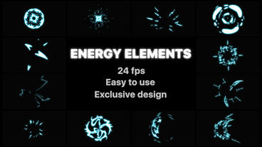 Energy Elements After Effectsテンプレート