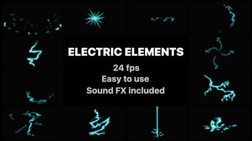 Electric Elements After Effectsテンプレート