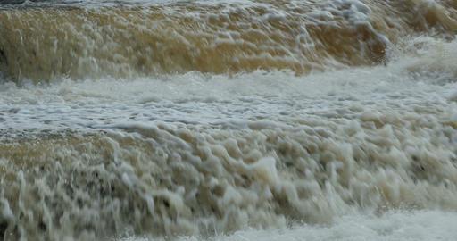 dam waterway flowing Footage