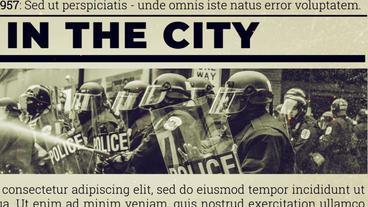 Newspaper Investigation Premiere Pro Template