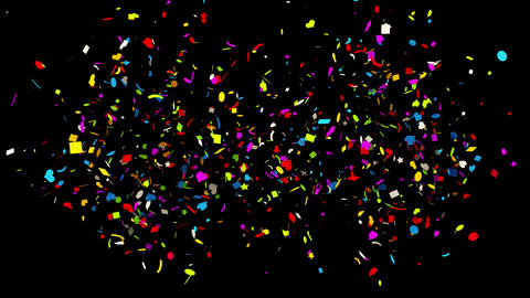 Confetti Animation Pack 0