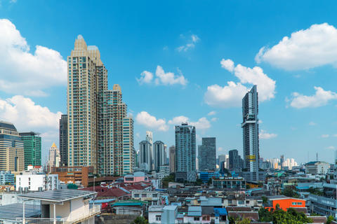 Bangkok Cityscape Business district フォト