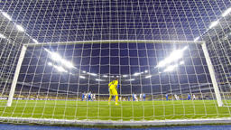 Ukraine Premier League Game between FC Dynamo Kyiv and Olimpic Live Action