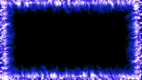 Fire flame border overlay hot heat effects 4k, Live Action