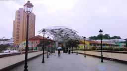 View of Clarke Quay,Singapore Videos de Stock