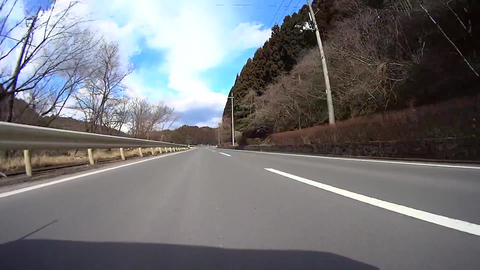 Driving view low angle Kyoto Japan / ローアングル車載動画 Footage