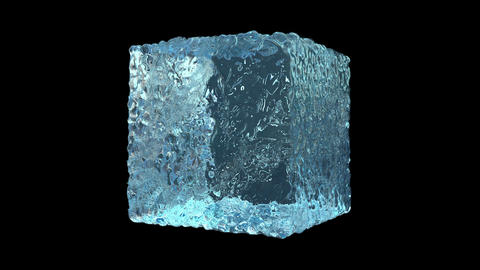 Ice Cube Formation GIF
