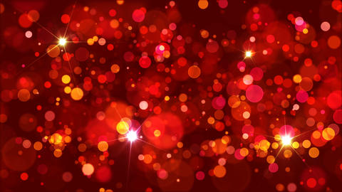 Warm Colors Bokeh Background Loop CG動画素材