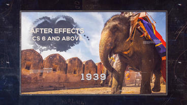 History Timeline Plantilla de After Effects