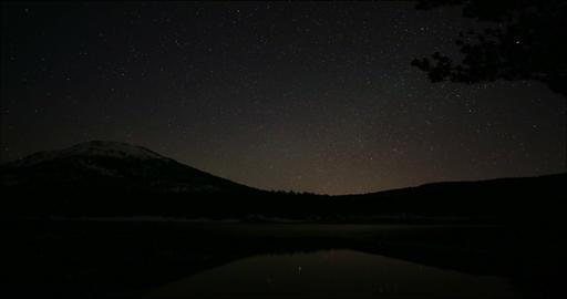 Amazing Timelapse of Stars at Dark Night Footage
