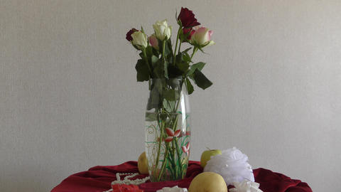 Still life with roses Image