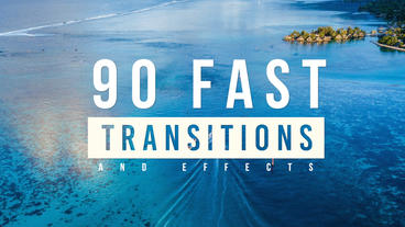 FCPX Fast Transitions & Effects Apple Motion 模板