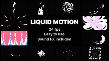 Liquid Motion Elements Premiere Pro Template