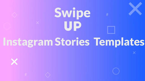 Instagram swipe up After Effects Template