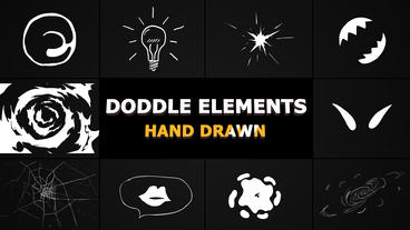 Doodle Elements After Effects Template