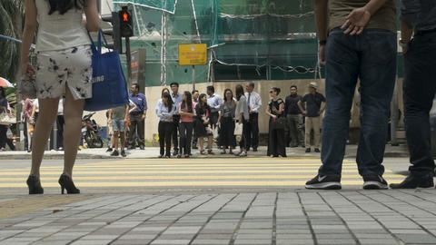 KUALA LUMPUR, MALAYSIA - CIRCA FEBRUARY 2018 - Asian people waiting at a Footage