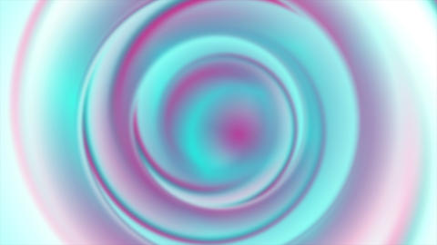Holographic foil neon abstract circles video animation Animation
