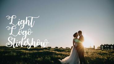 Light Logo Slideshow After Effects Template