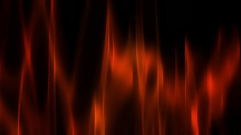 Fiery Red Theater Curtain Waving Stock Video Footage
