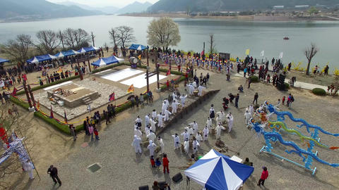 Gayajin Yongsinje Dragon god ritual in yangsan 09 Live Action