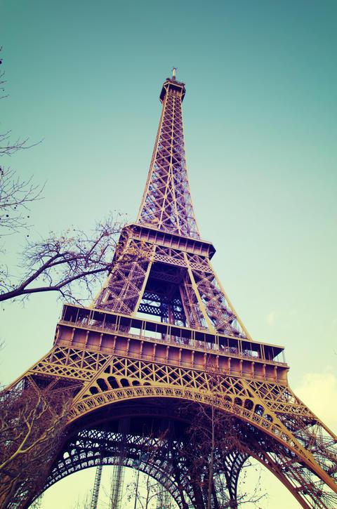 Eiffel Tower in Paris Fotografía