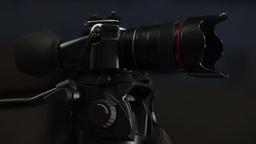 Digital Camcorder with Viewfinder Footage