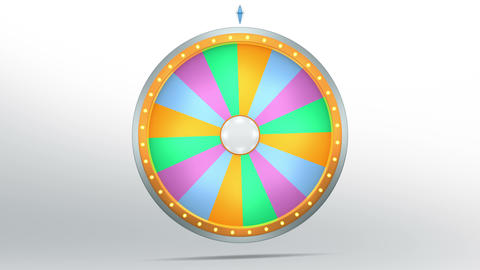 Colourful Graphic In Wheel Of Fortune 2