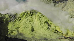 Sulfur production,Crater of the volcano Ijen Archivo