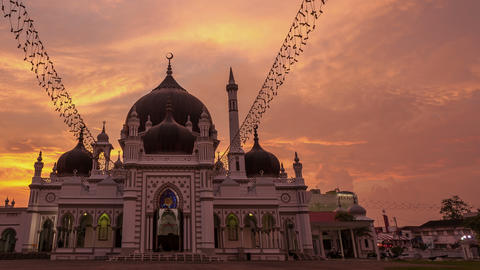 Mosque 4k Time Lapse 0