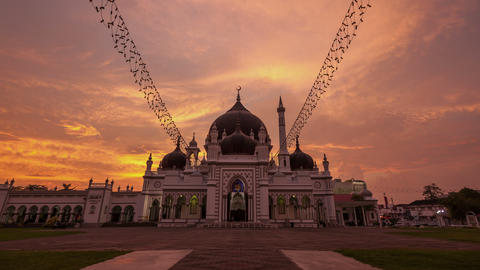 Mosque 4k Time Lapse 2