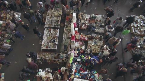 """Els Encants"" flea market in Barcelona Archivo"