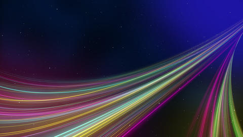 space and colorful lines background 動画素材, ムービー映像素材